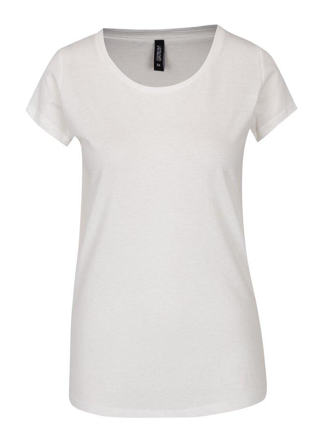 Krémové basic tričko Haily´s Tari