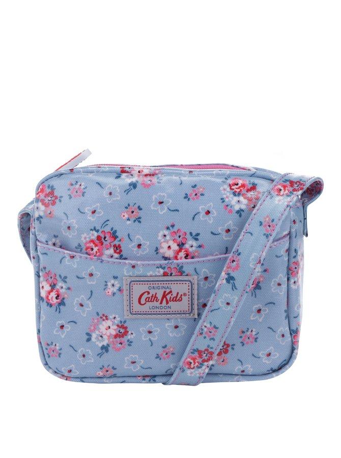 Světle modrá holčičí květovaná crossbody kabelka Cath Kidston
