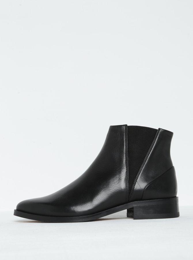 Černé dámské kožené chelsea boty Royal RepubliQ