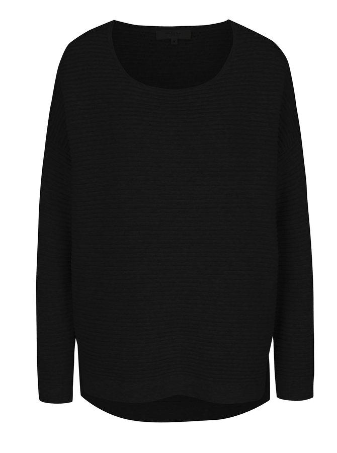 Černý svetr Selected Femme Laua