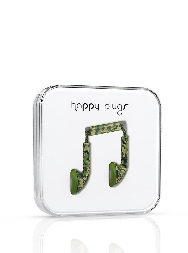 Casti In-Ear camouflage Happy Plugs
