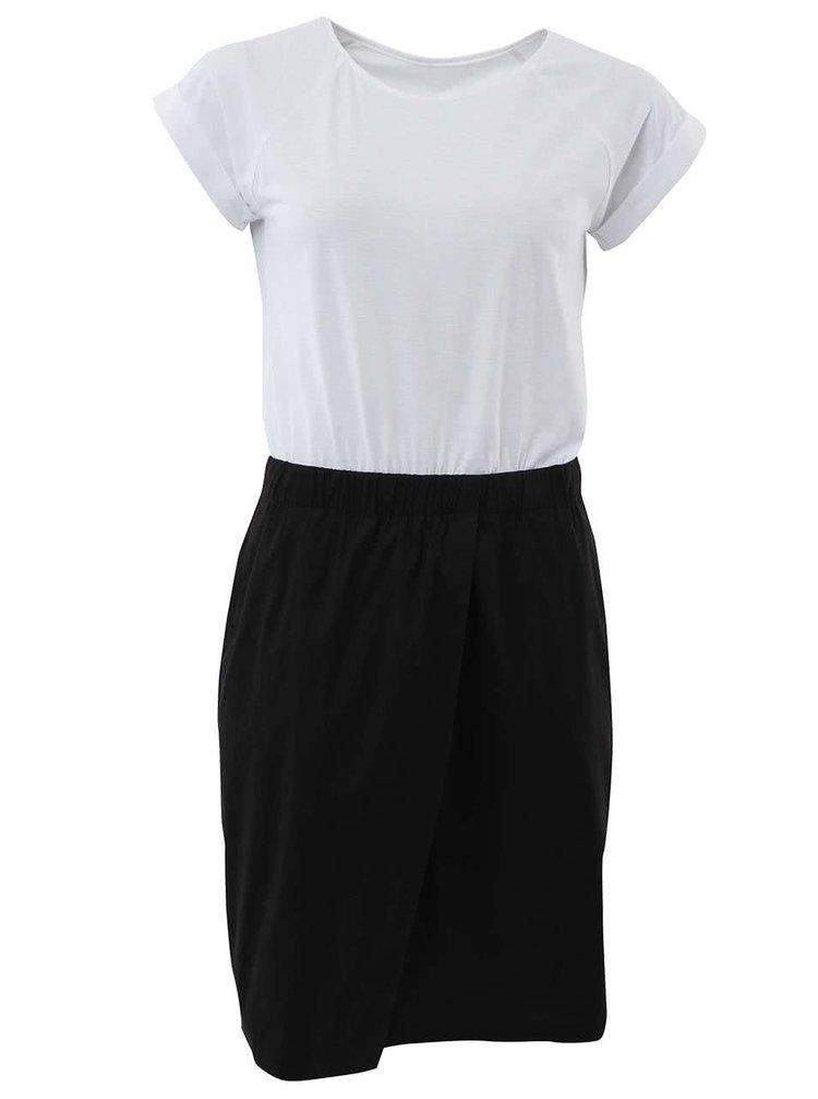 """""""Dobré"""" čierno-biele šaty City Souls Mirka Horká"""