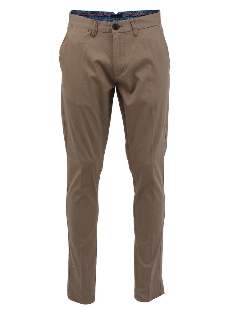 Béžové pánske nohavice Selected One Jake