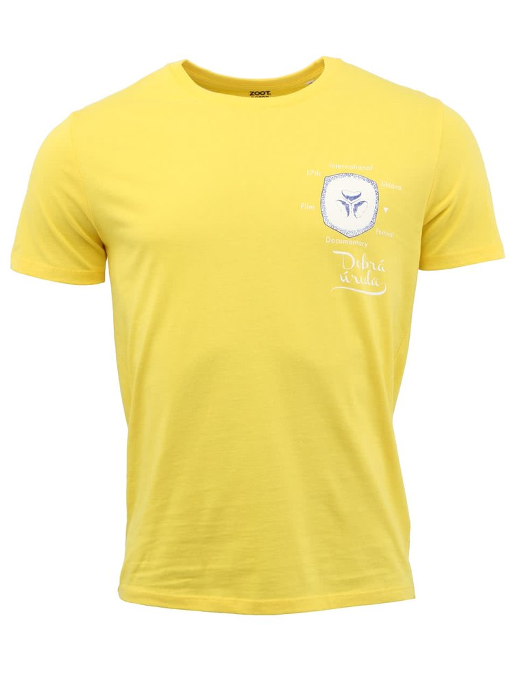"Pánské žluté tričko ""Dobrá úroda""  Banán"