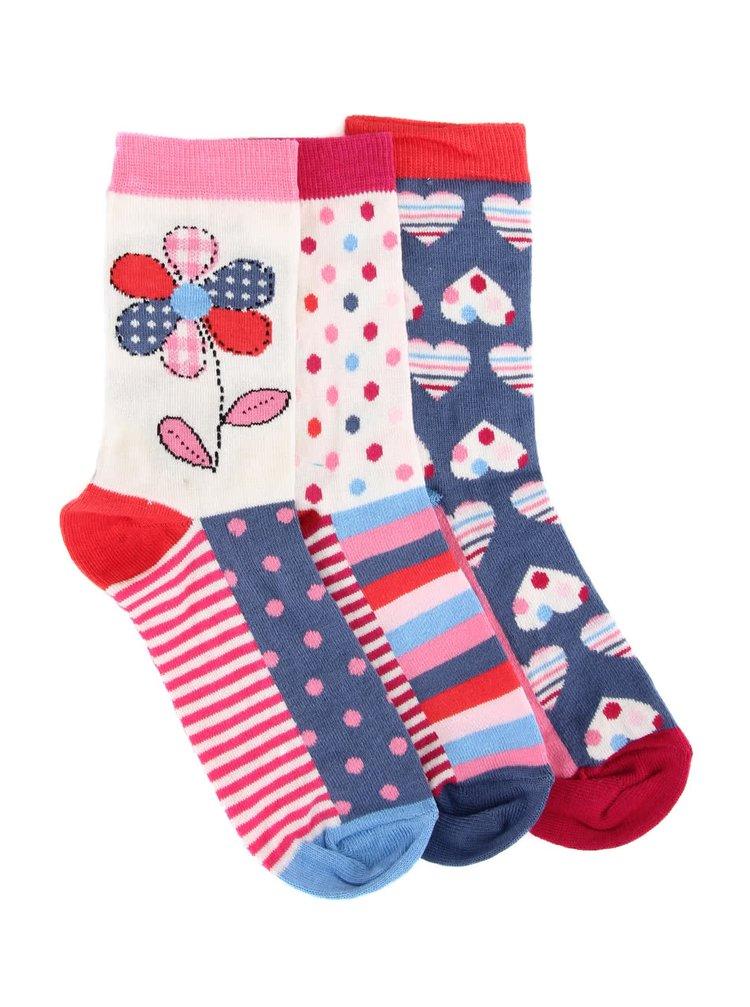 Sada tří dámských ponožek Oddsocks Alice