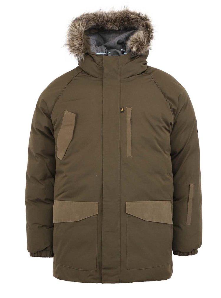 Khaki zimní bunda Fat Moose Arctic Explorer