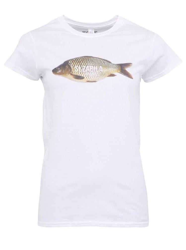 Biele dámske tričko ZOOT Originál Si zabila