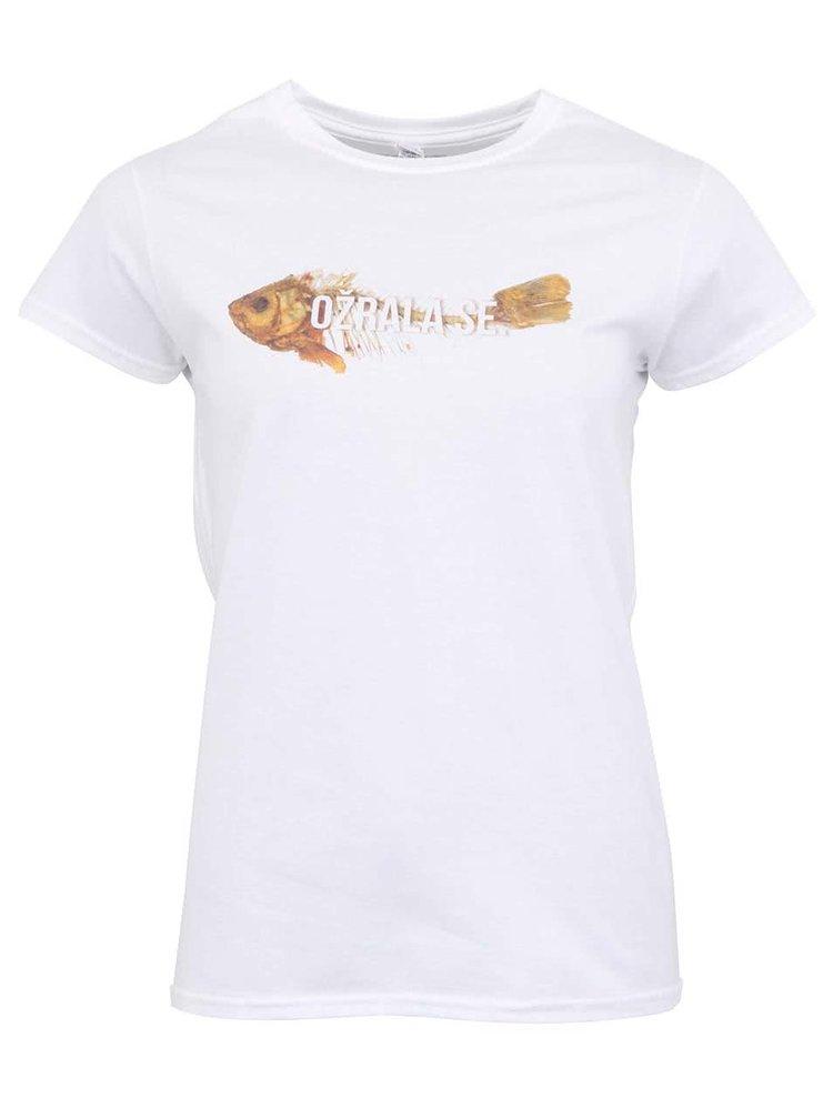 Bílé dámské tričko ZOOT Originál Ožrala se