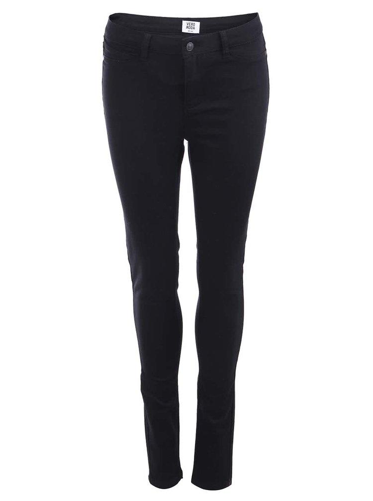 Černé skinny kalhoty VERO MODA Flex-It