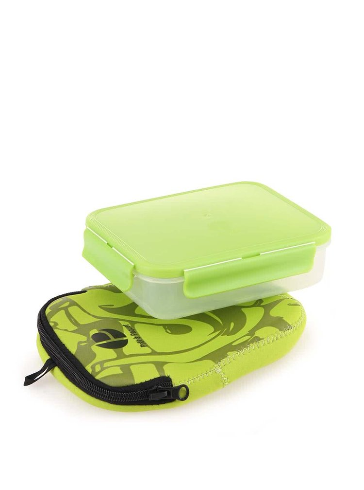 Zelený box na sandwich Prêt à Paquet