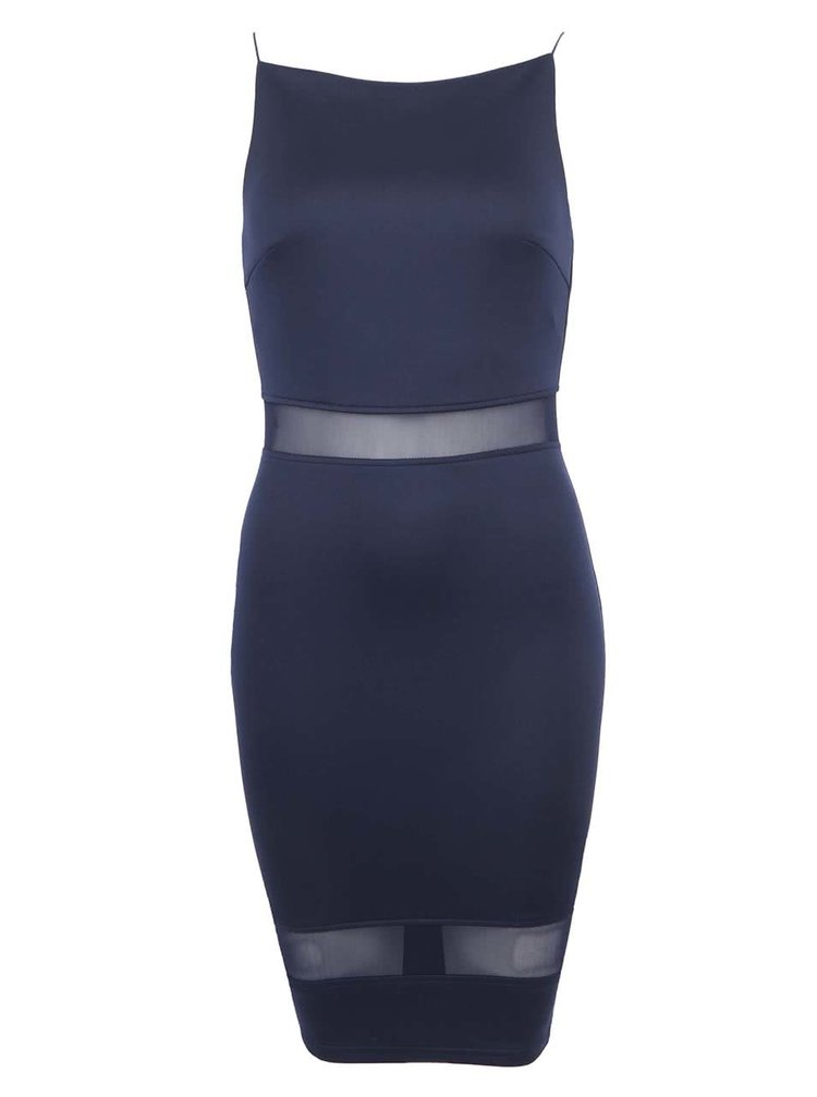 Tmavě modré šaty AX Paris