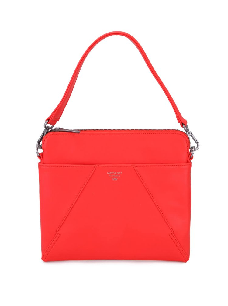 Červená kabelka Matt & Nat Whilem