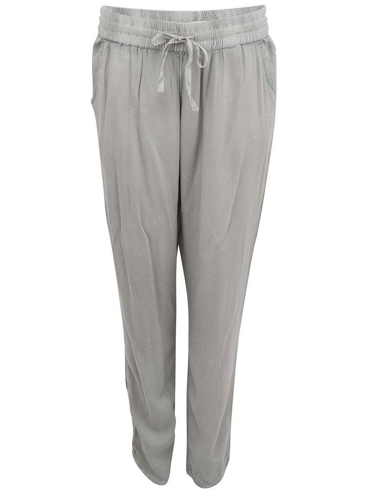 Zelené dámské volné kalhoty YAYA