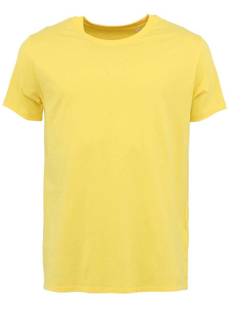 Světle žluté pánské tričko Stanley & Stella Leads