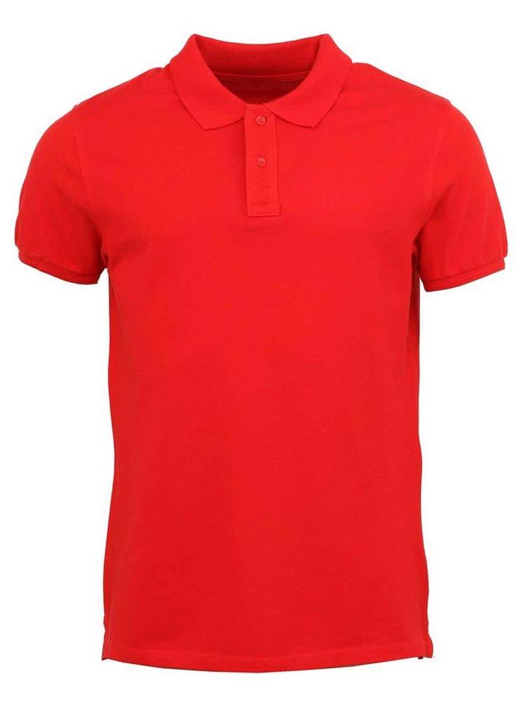 Červené pánské triko Stanley & Stella Performs