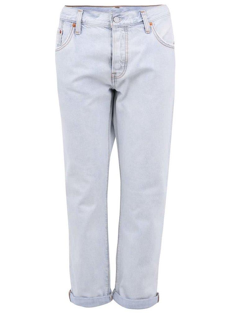 Světle modré dámské boyfriend džíny s ohrnutelnými nohavicemi Levi's®