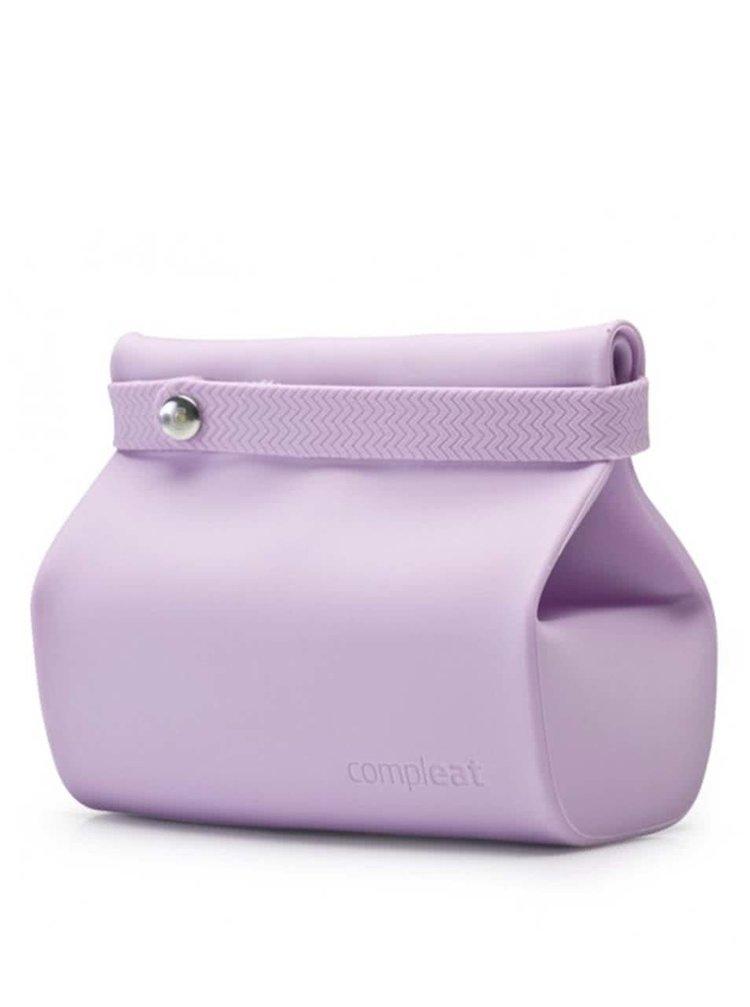 Levanduľové silikónové vrecko na desiatu Compleat Foodbag