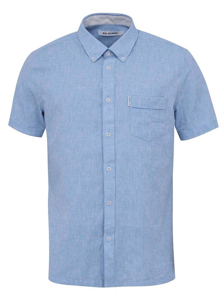 Modrá žíhaná košile Ben Sherman