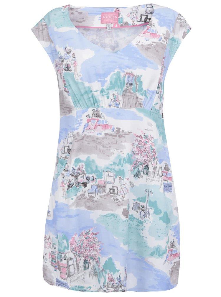 Modré šaty s potiskem Tom Joule Elodie