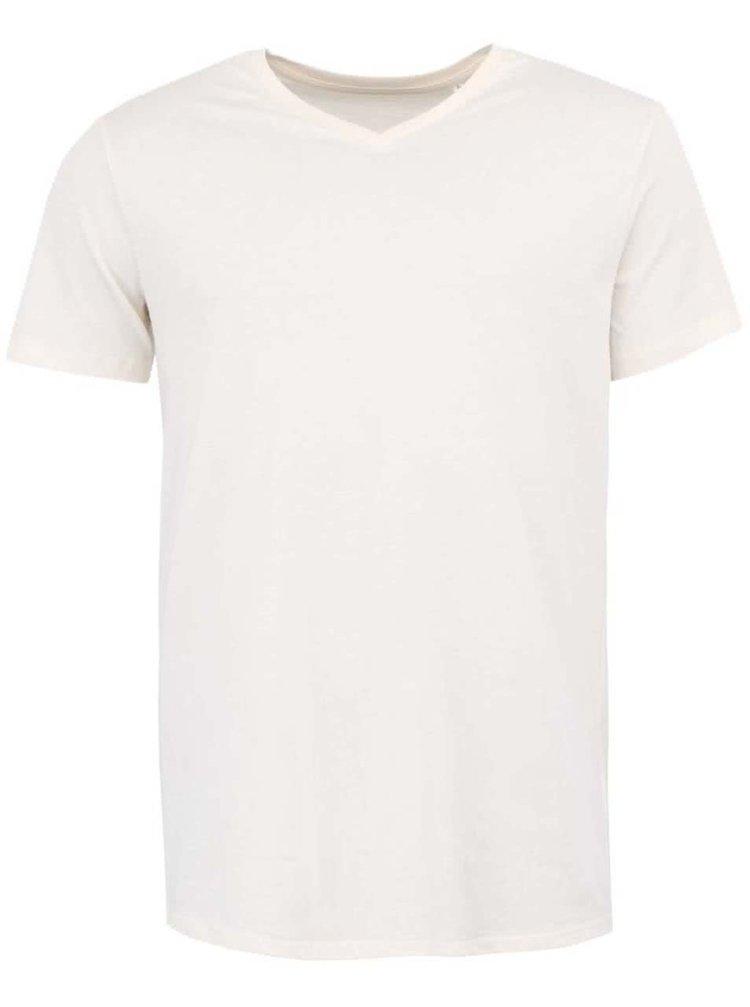 Krémové pánské tričko Stanley & Stella Expects