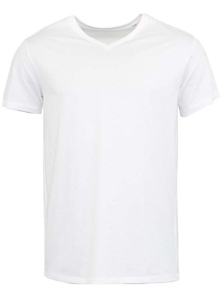 Bílé pánské triko Stanley & Stella Expects