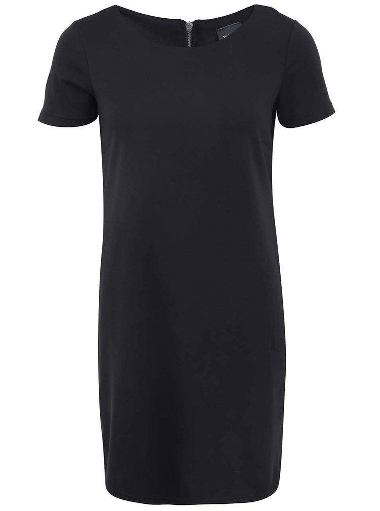 Rochie cu maneca scurta VILA Tinny - negru
