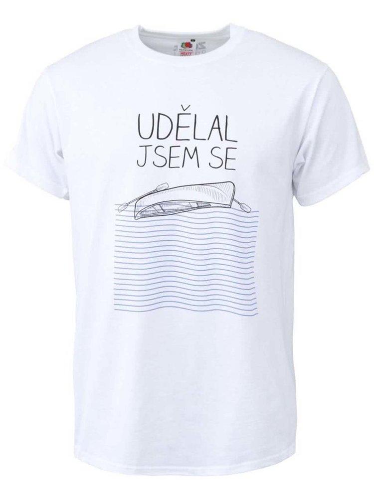 Bílé pánské tričko ZOOT Originál Udělal jsem se