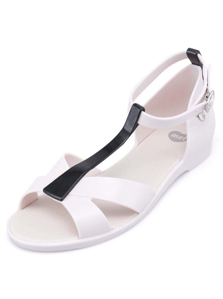 Bílé plastové sandálky Mel Dance