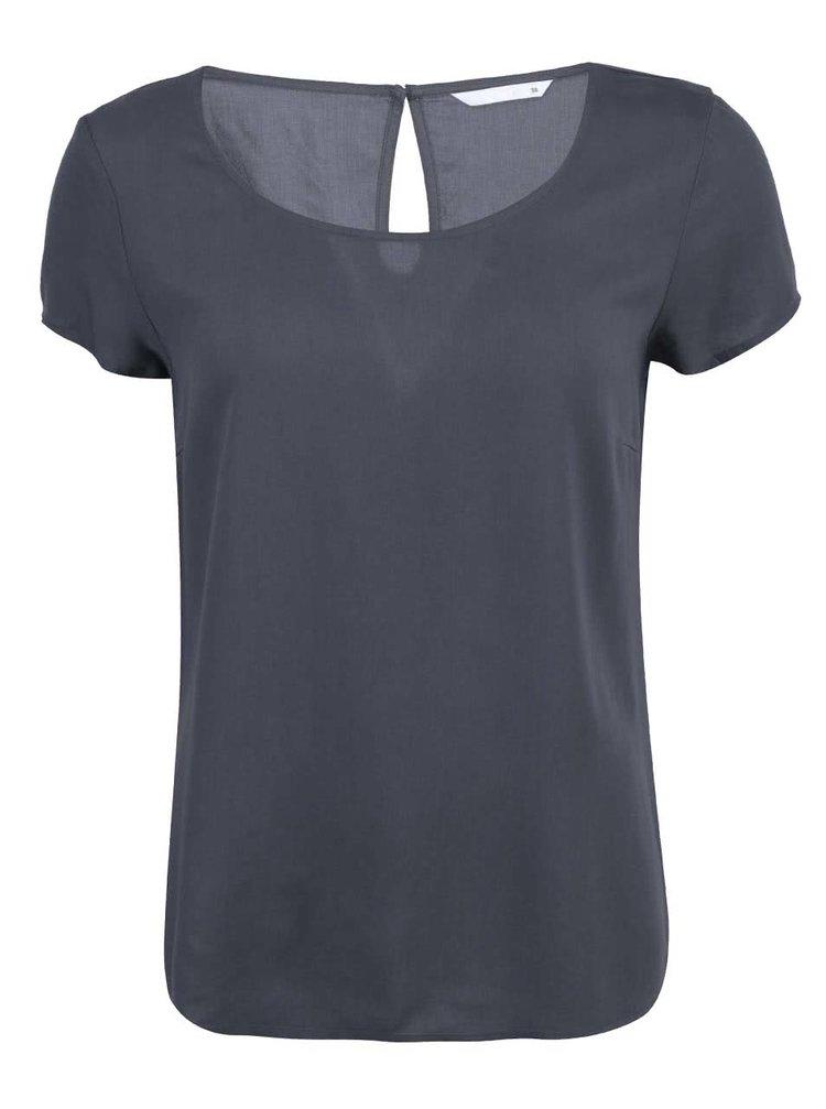 Sivé voľnejšie tričko ONLY Geggo