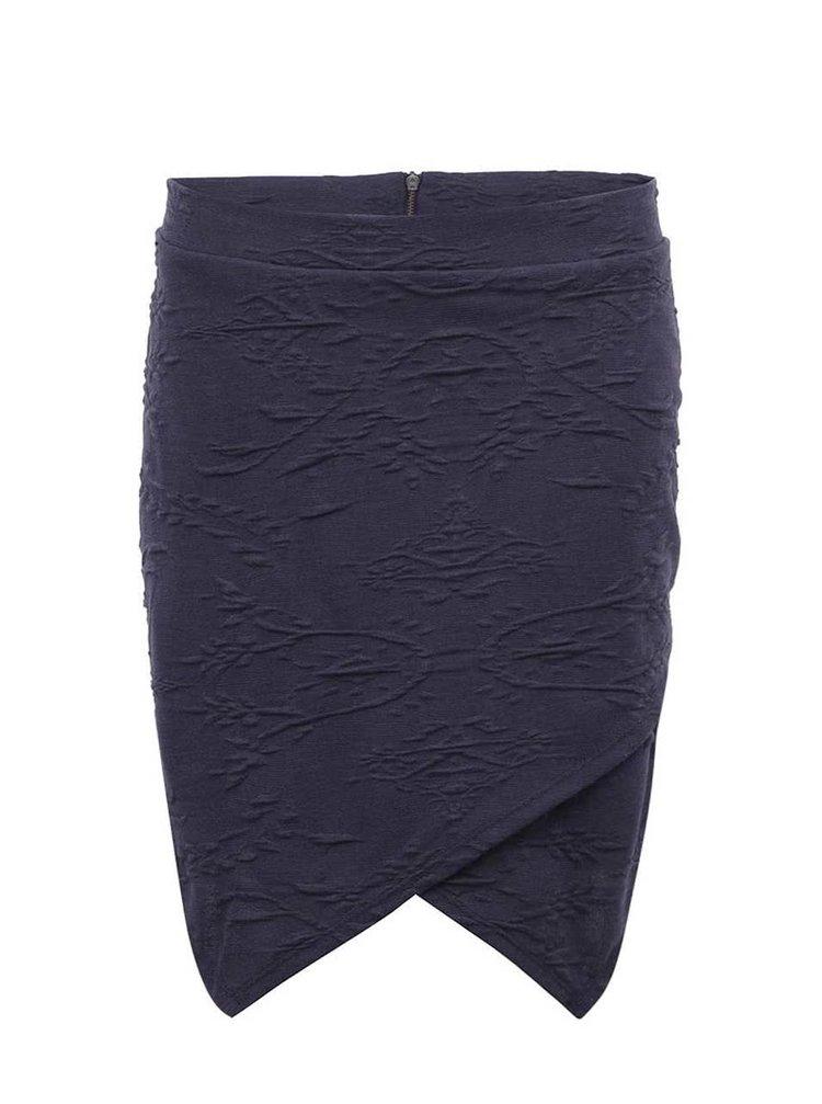 Tmavě modrá sukně b.young Ragna