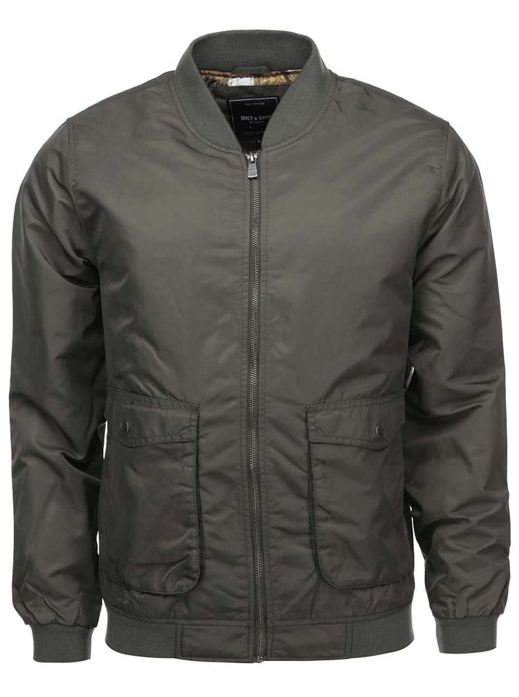 Jachetă bărbătească ONLY & SONS Sewell kaki