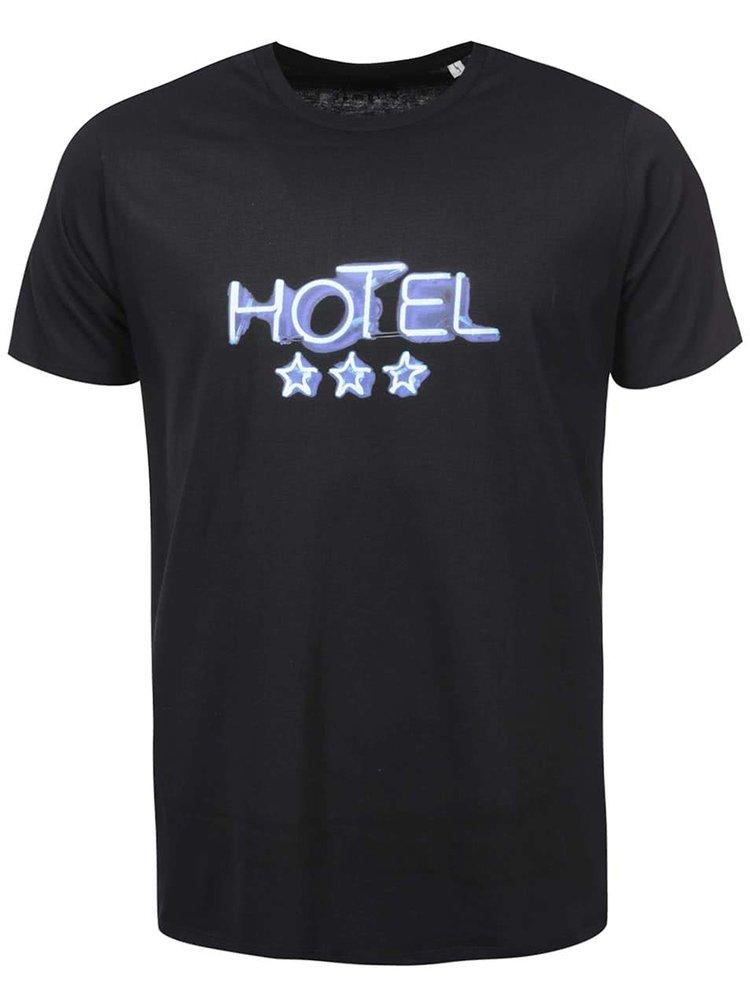 Čierne pánske tričko ZOOT Originál Hotel
