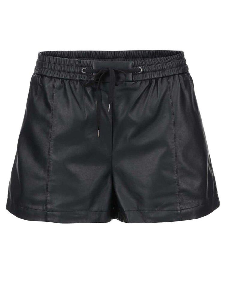 Pantaloni scurți negri VERO MODA Lina