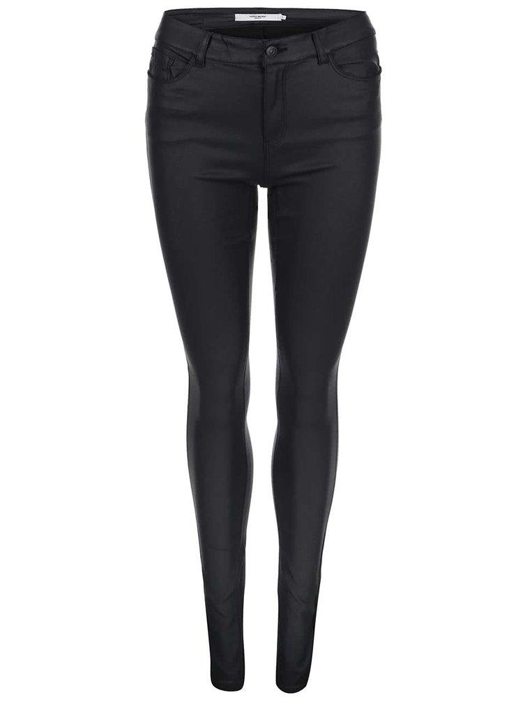 Pantaloni slim fit VERO MODA Seven - Negru