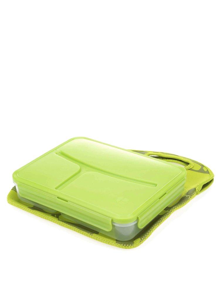 Zelený box na obed Prêt à Paquet