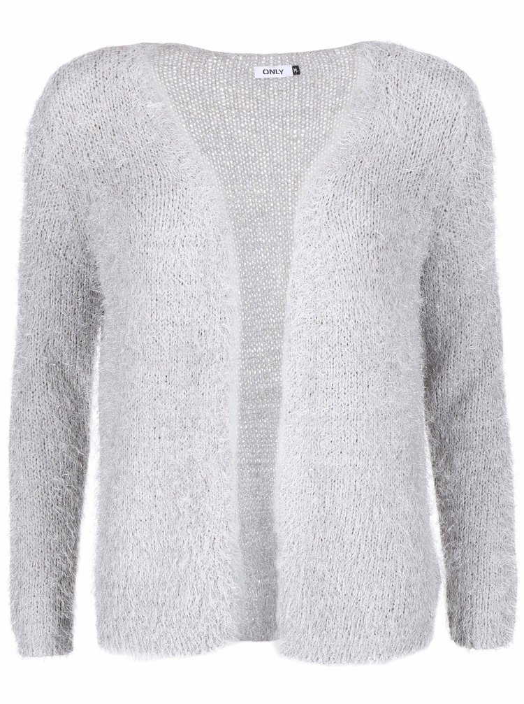 Cardigan gri deschis ONLY Perfect