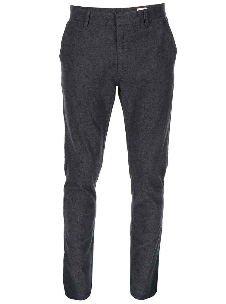Tmavě šedé kalhoty Selected Arval
