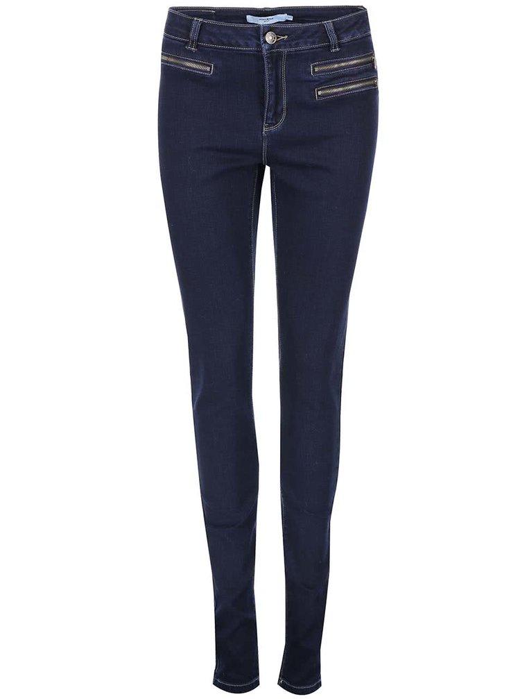 Jeanși Seven, de la VERO MODA, slim, bleumarin