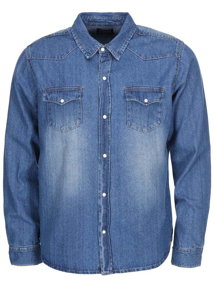 Denimová košile D-Struct Aldgate