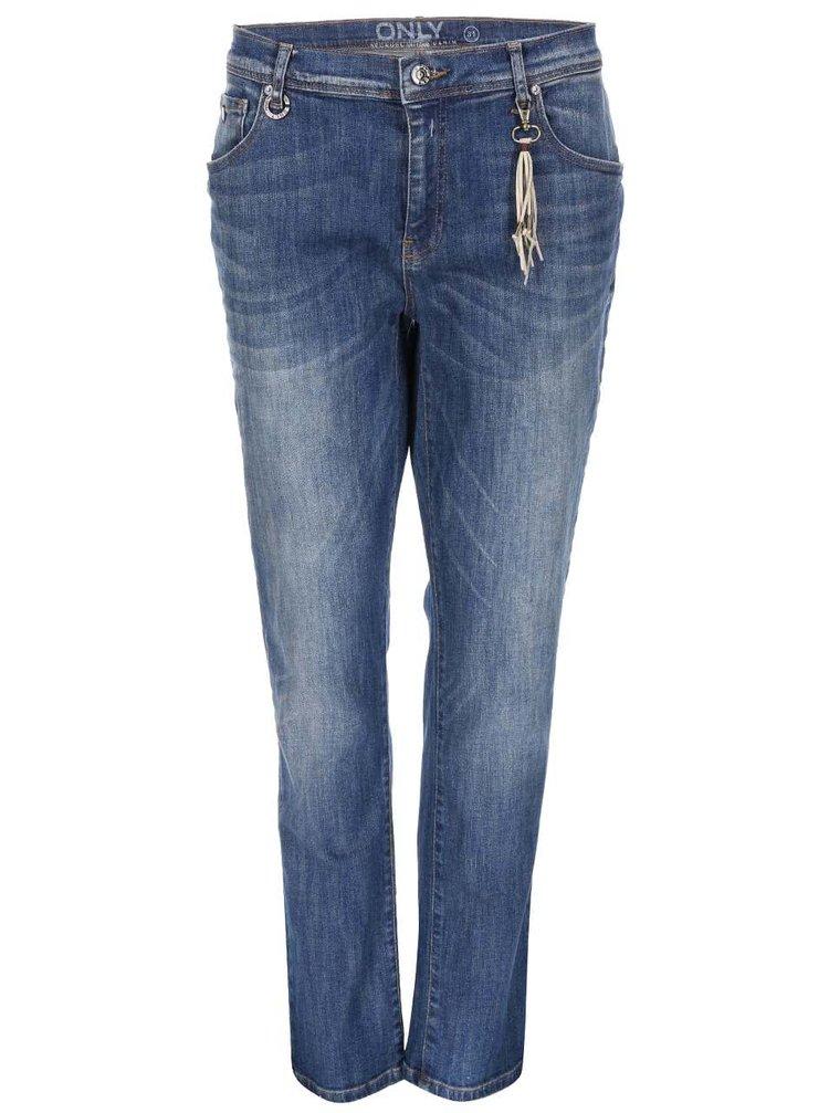 Modré džíny s rovnými nohavicemi ONLY Gemma