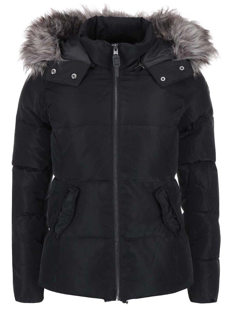 Čierna prešívaná bunda ONLY Lana
