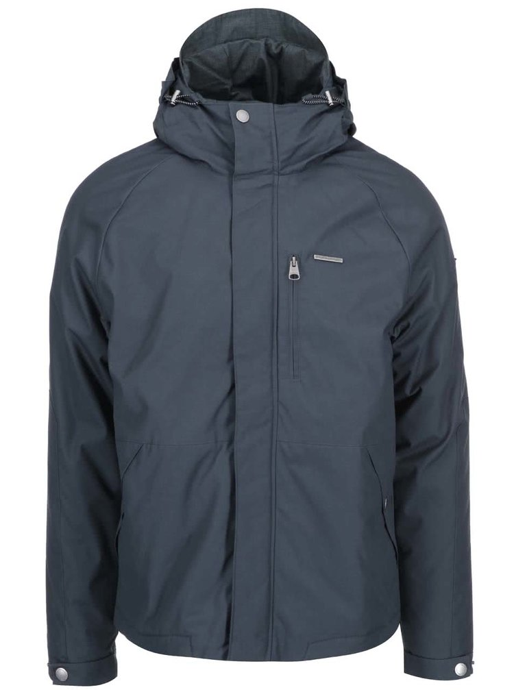 Jachetă bărbătească Slide în combinația gri și negru de la Ragwear
