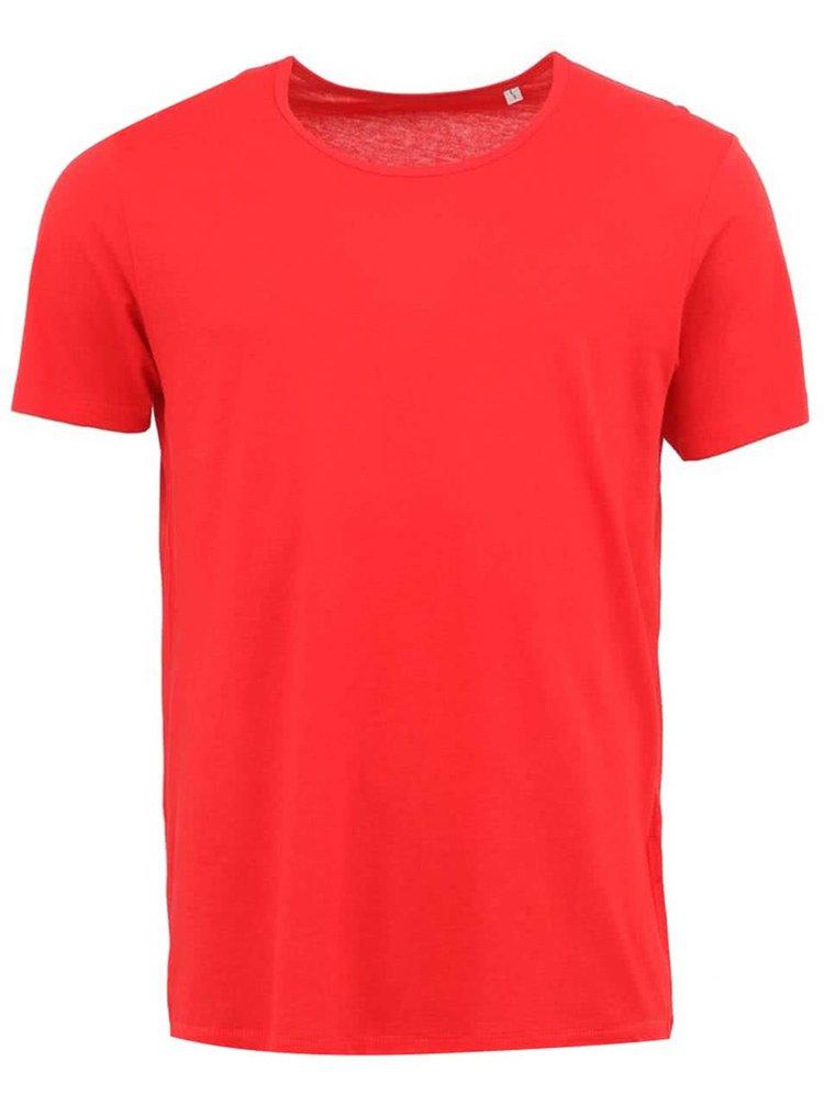 Červené pánske tričko Stanley & Stella Adores