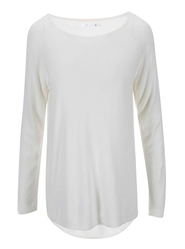 Krémový dlhý sveter ONLY Mila