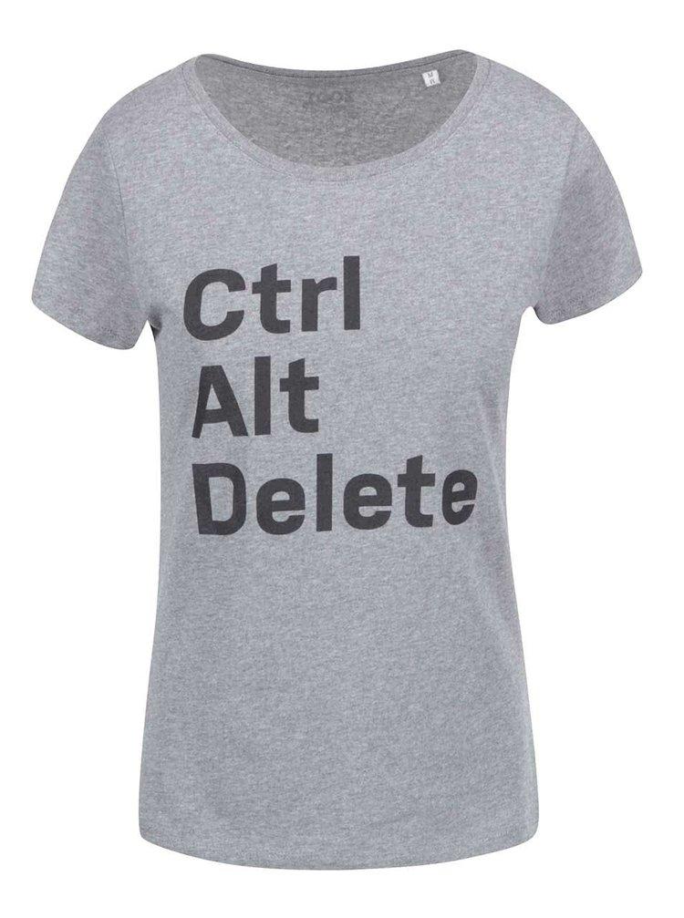 Tricou de damă gri Zoot Original Geek