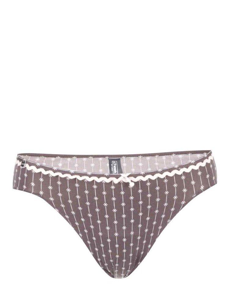 Hnědé kalhotky se vzorem Lisca Wittily