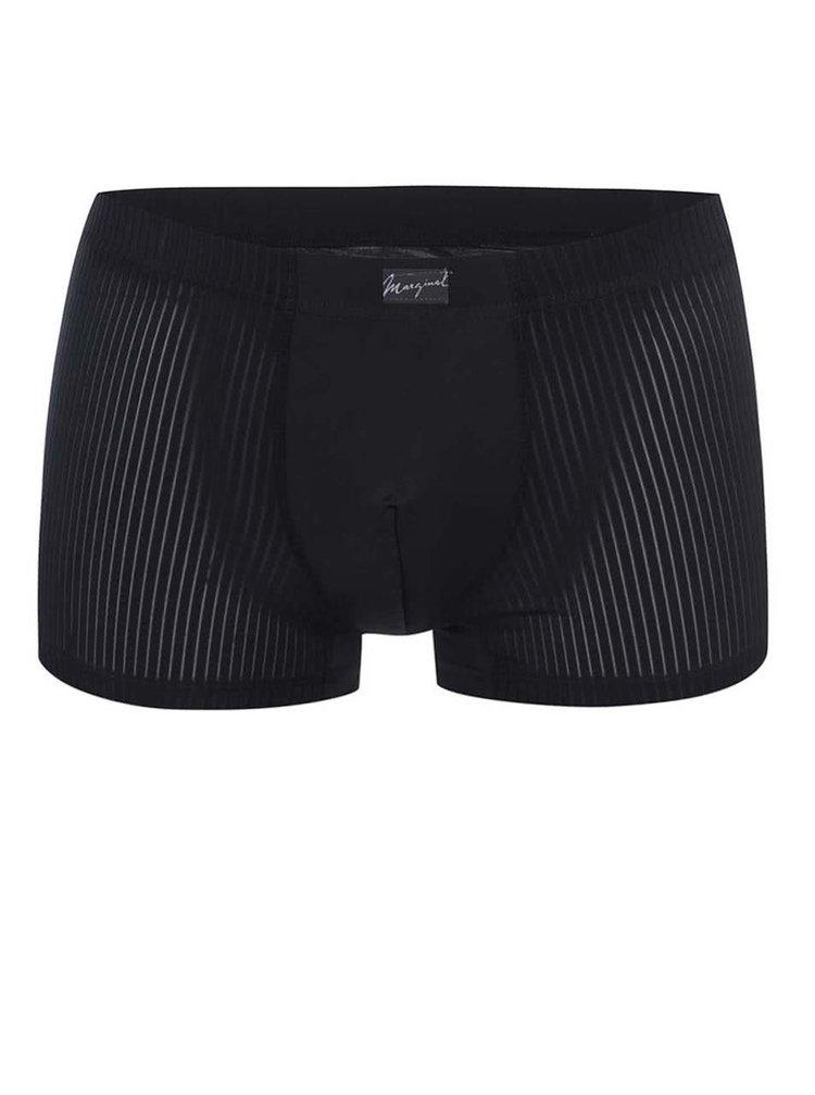 Čierne vzorované boxerky Marginal