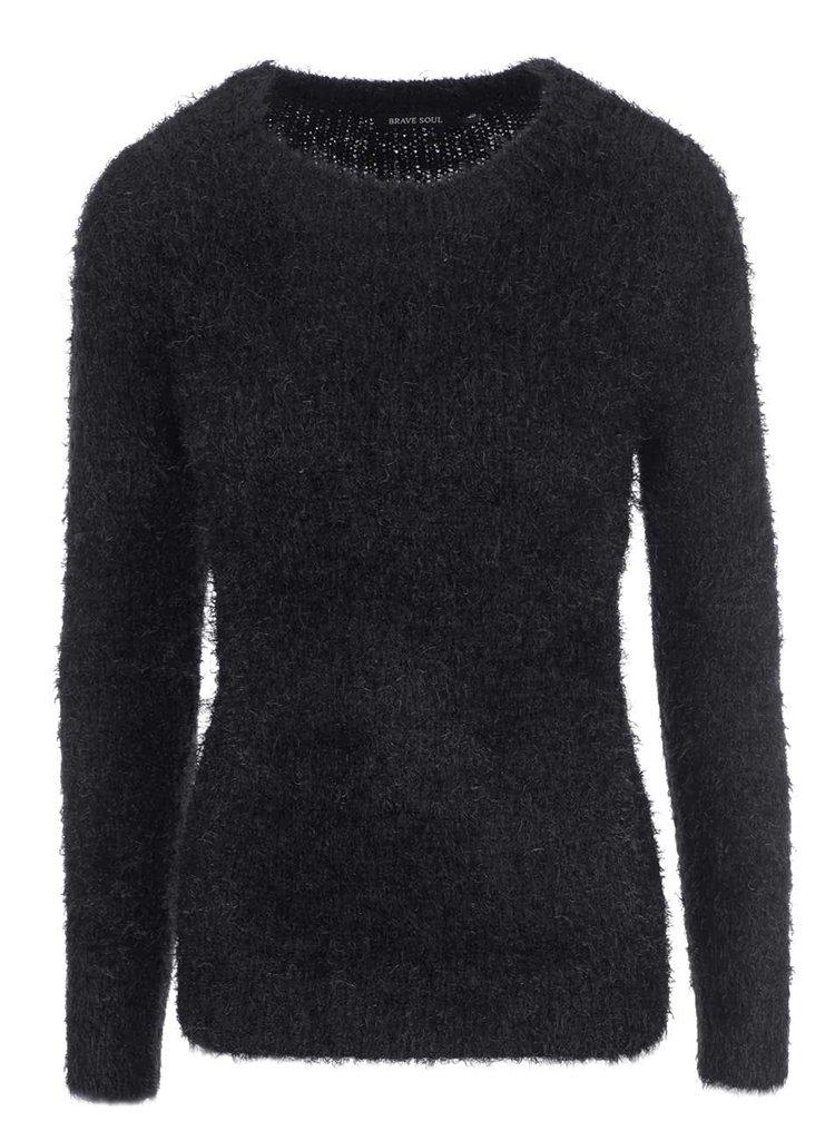 Čierny dámsky sveter Brave Soul Lucy
