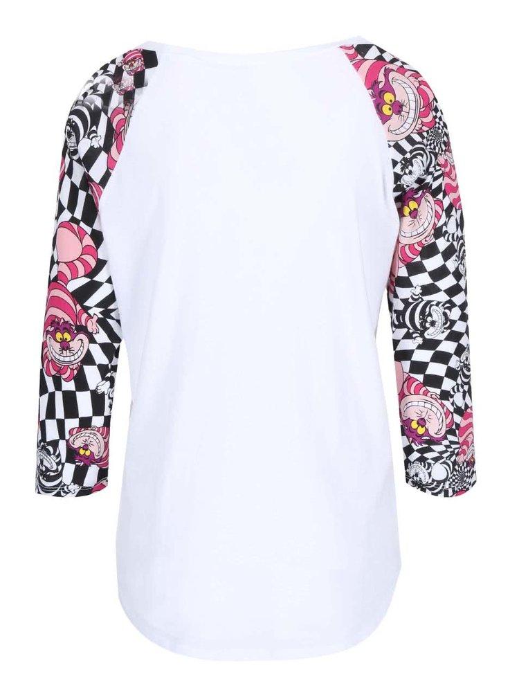 ac7fb7369 Bílé tričko s barevnými rukávy Vans | ZOOT.cz