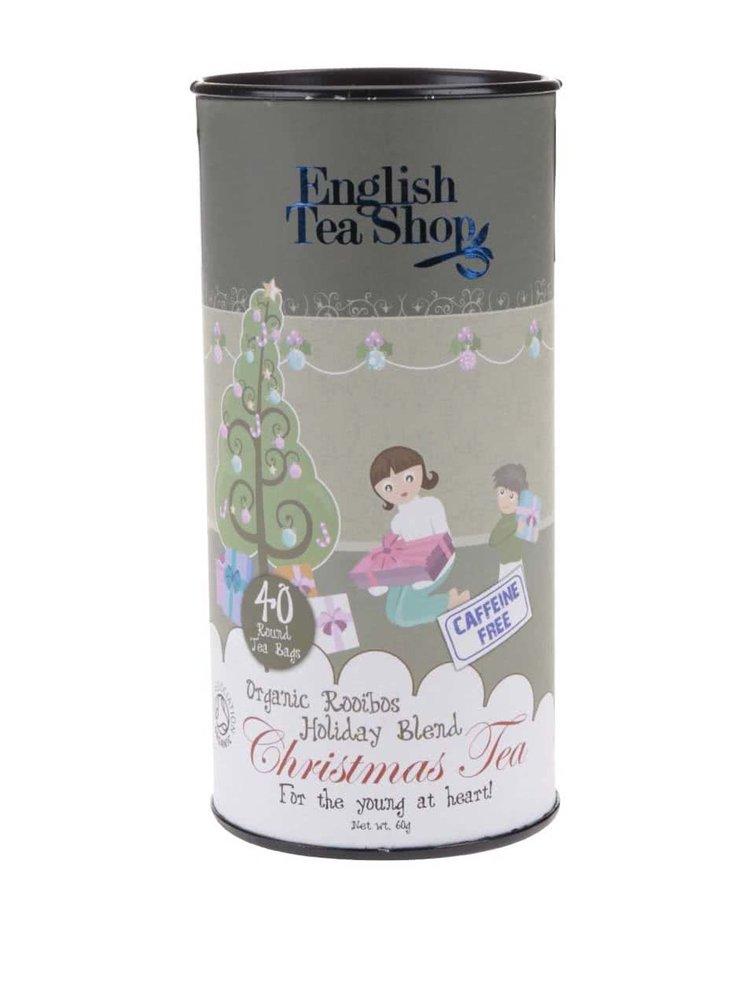 Bezkofeinový čaj English Tea Shop Vánoční směs